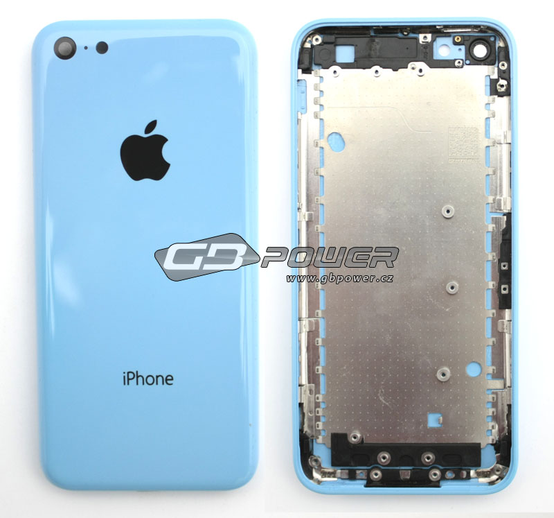 Apple iPhone 5C kryt baterie modrý