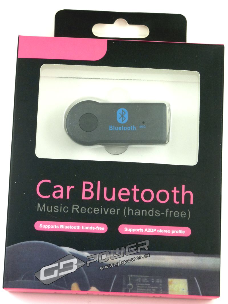 Car Bluetooth Music Receiver Hands-free