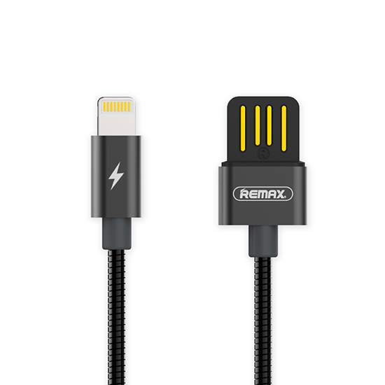 Datový kabel Apple iPhone 5 / 5S / 6 / 6S / 7 /8/X REMAX Serpent RC-080i Lightning černý