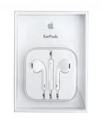 Hands Free Apple iPhone 4 / 4S / 5 / 5S / 6 / 6S EARPODS MD827 bílé orig retail pack