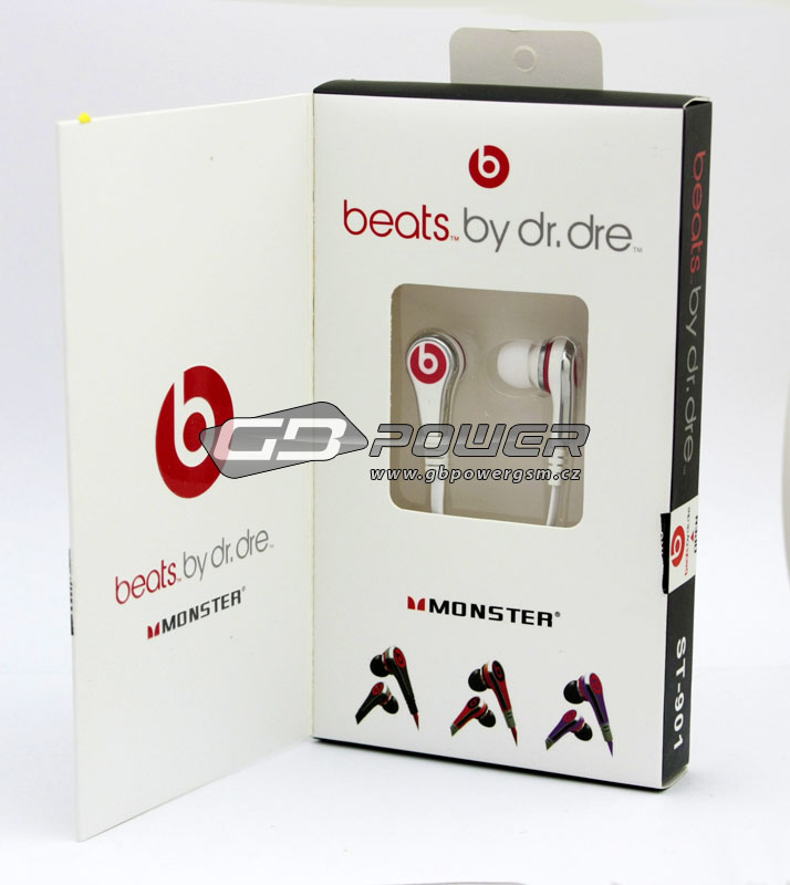 Hands free Monster Beats by Dr.Dre ST-901 bílé