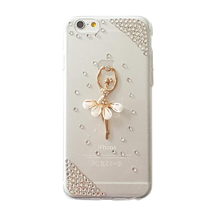 Pouzdro Diamond Case Apple iPhone X ballerina