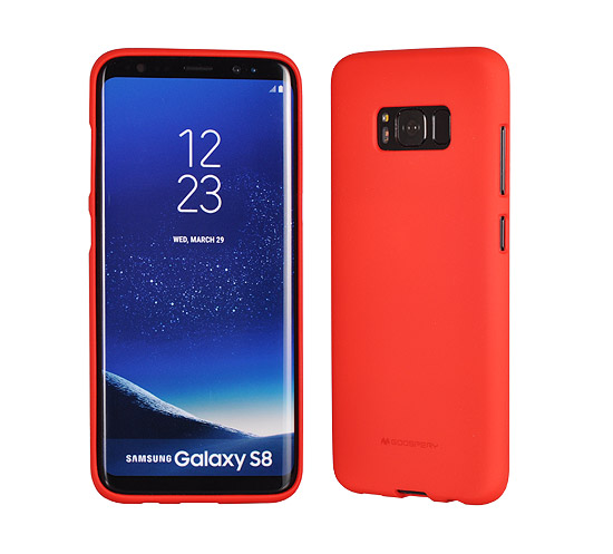 Pouzdro Mercury Soft Feeling TPU Apple iPhone X / XS 5,8 červené