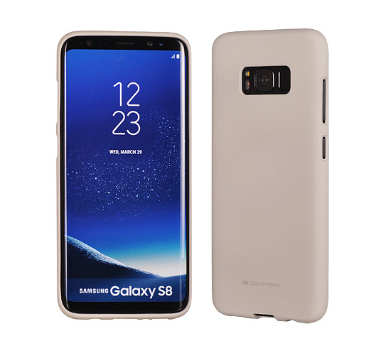 Pouzdro Mercury Soft Feeling TPU Apple iPhone X / XS 5,8 pískové