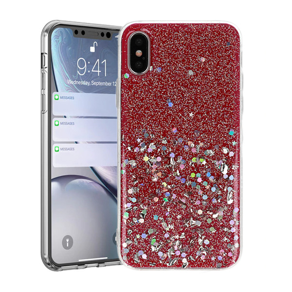 Pouzdro Vennus Brilliant Apple iPhone X / XS 5,8 růžové