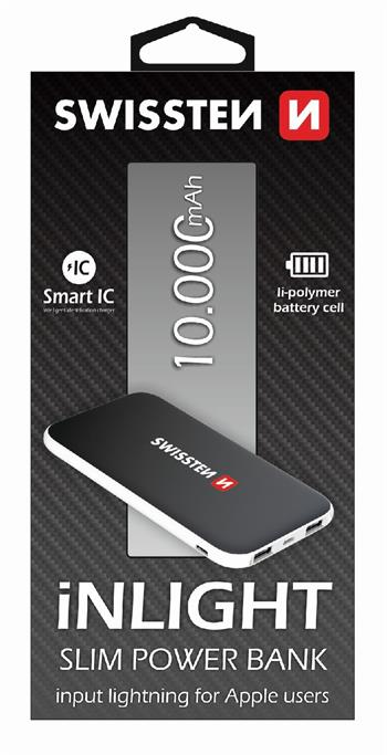 Power Bank SWISSTEN iNLIGHT 10000mAh