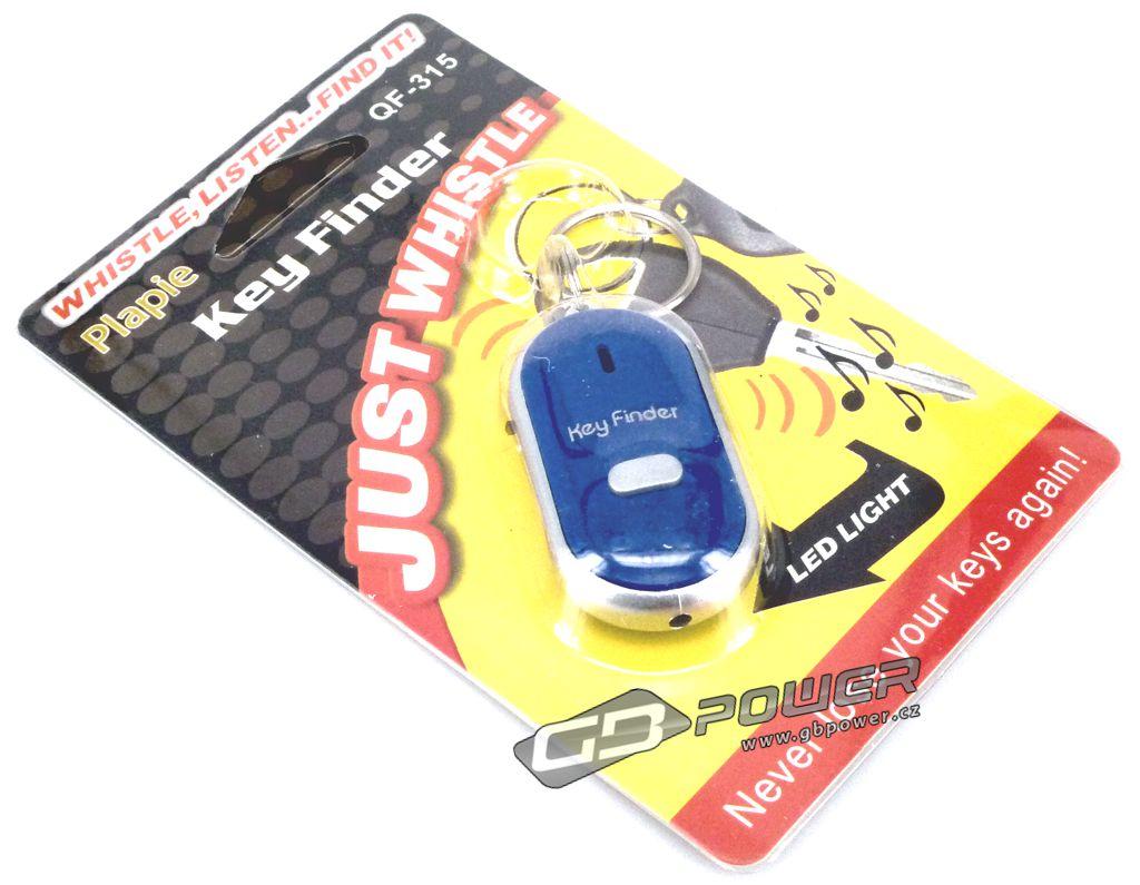 Přívěšek na klíče hledač klíčů modrý 7ccef15a2d3