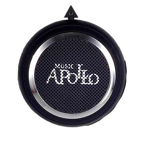 Reproduktory Bluetooth s rádiem Apollo Mini černé