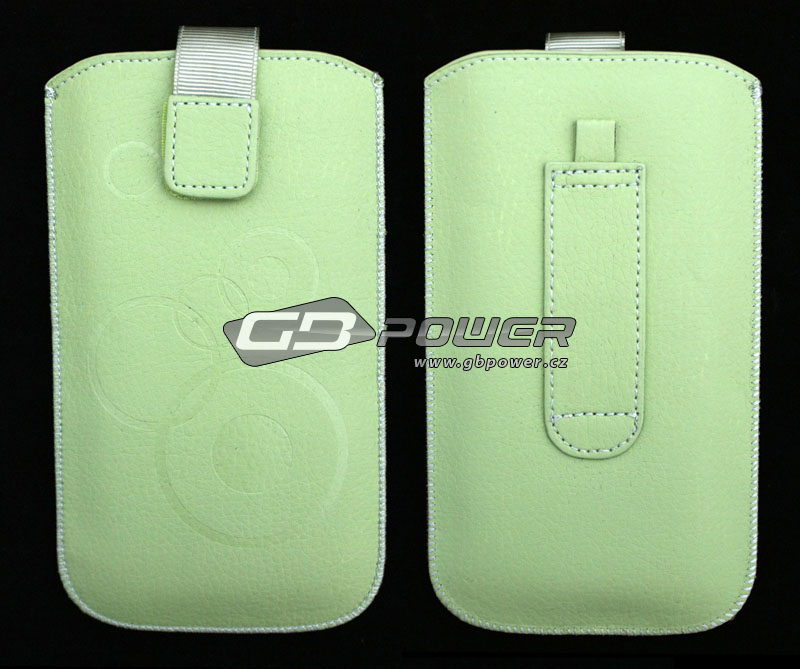 Pouzdro Forcell DEKO iPhone 3G / 4 / 4S mint