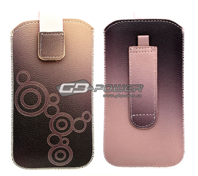 Pouzdro Forcell Deko 2 iPhone 3G / 4G / 4S / S5830 Galaxy Ace / S6310 Young růžové