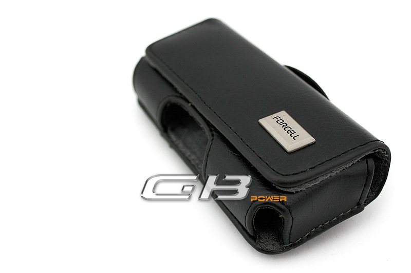 Pouzdro Forcell Classic iPhone 3G / 4G / 4S / Samsung S5830 / S6310 Young  černé